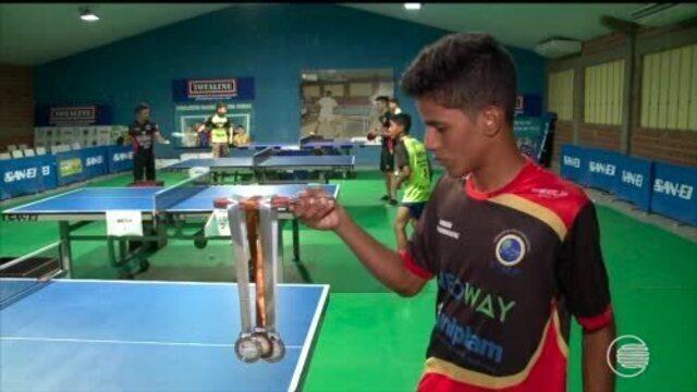 Piauienses faturam 16 medalhas em Copa do Nordeste de Tênis de Mesa em Fortaleza