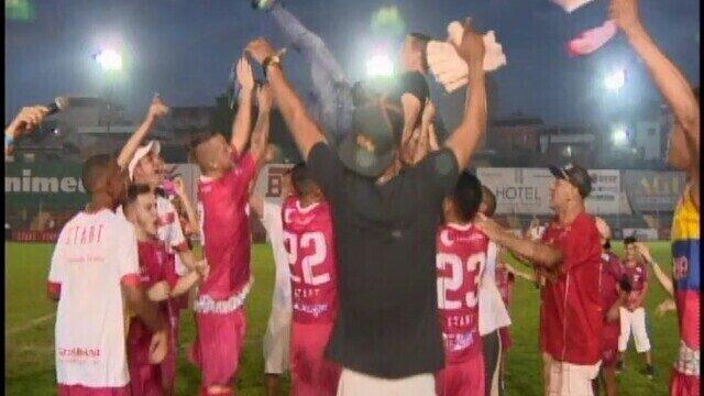 Guarani-MG perde para Uberaba, mas conquista acesso à elite do Mineiro em 2019