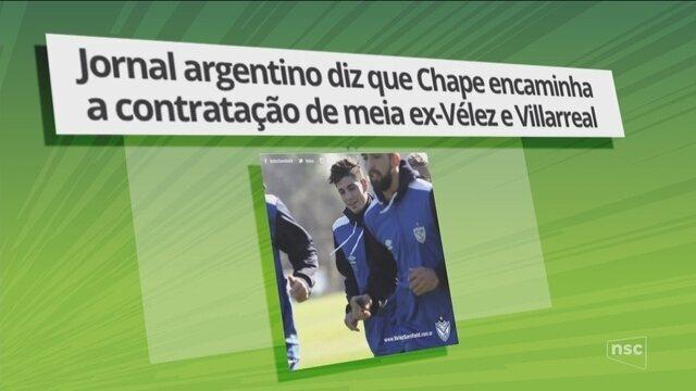 Mercado da bola: Jornal diz que Chape encaminha contratação de meia ex-Vélez e Villarreal
