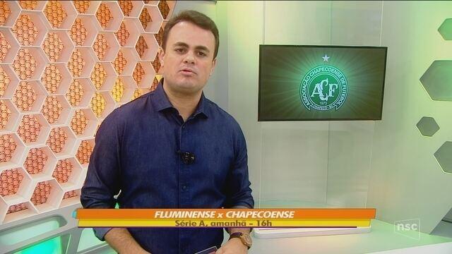 Chapecoense visita o Fluminense e busca reabilitação na Série A