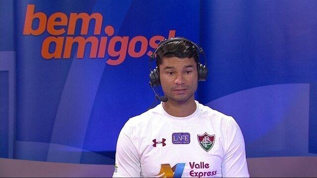 Gum diz que Fluminense jogou abaixo do esperado na derrota para o Paraná