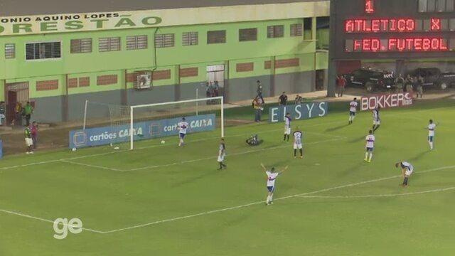 Veja os gols de Atlético-AC 3 x 0 ABC, pela 9ª rodada do Brasileiro da Série C