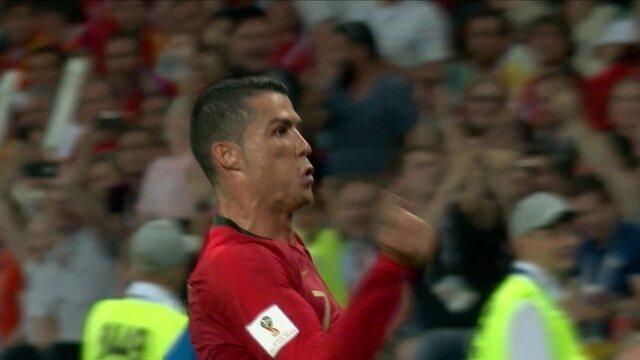 Confira os principais lances de Cristiano Ronaldo no show do atacante contra a Espanha