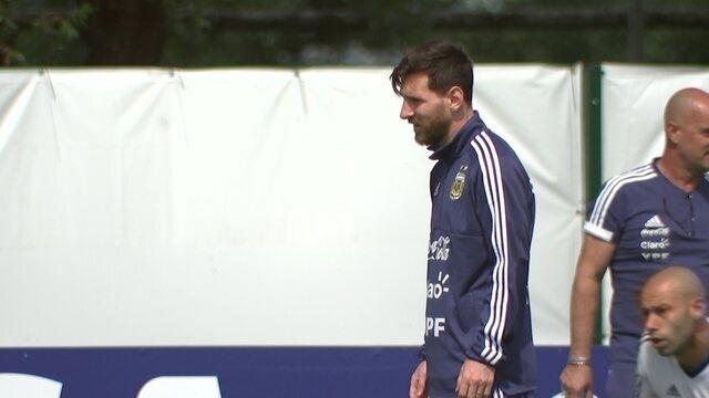 Argentina faz últimos ajustes antes do confronto decisivo contra a Croácia