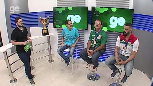 Torcedor GE recebe campeões da Taça Brasil de Futsal pela Asec