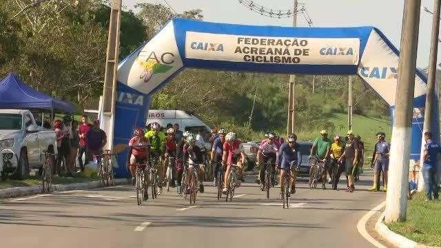 Federação realiza a 5ª etapa do Cameponato Acreano de Ciclismo