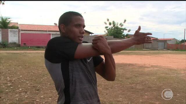 Atletas piauienses se preparam para o Norte-Nordeste de Atletismo