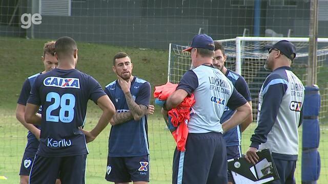 Por dentro do treino: Londrina faz mudanças em busca de primeira vitória com Sergio Soares