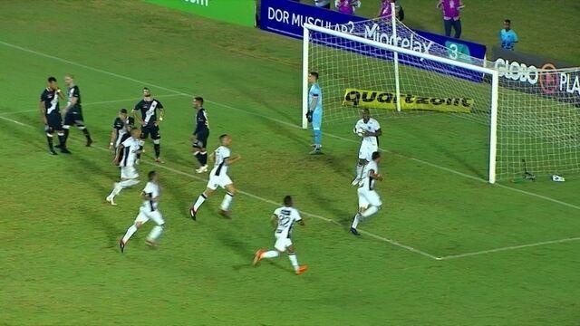 Os gols de Vasco 1 x 1 Ceará pela 19ª rodada do Brasileirão 2018