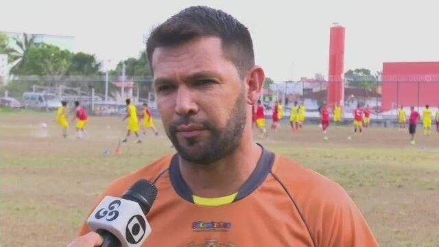 Técnico Zé Marco trabalha no planejamento do Galvez para a temporada 2019