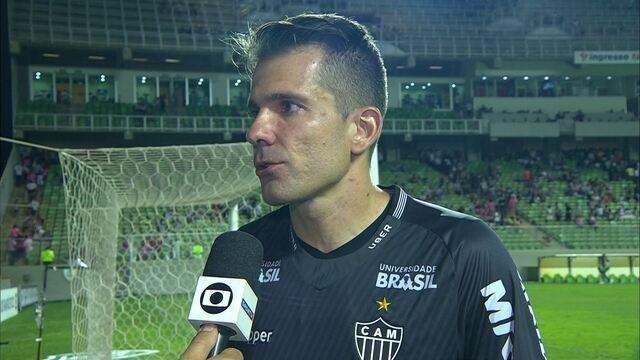 """Victor, sobre empate: """"Deixamos dois pontos em casa"""""""