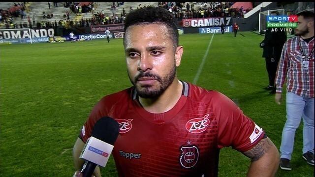 Diego Miranda lamenta queda de rendimento do Brasil-Pel no segundo tempo