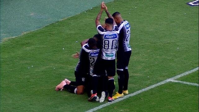 Os gols de Ceará 1 x 1 Internacional pela 33ª rodada do Campeonato Brasileiro