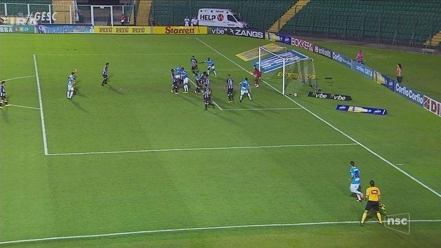 Figueirense sofre virada no fim e liga alerta contra o rebaixamento na Série B
