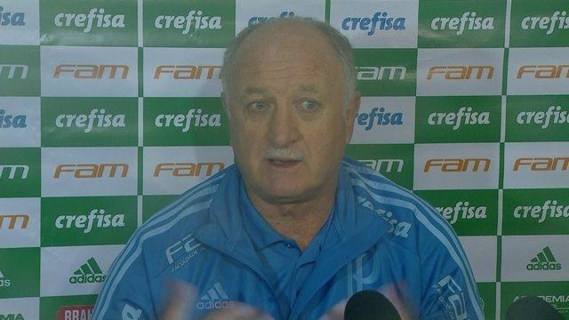 Veja trechos da entrevista coletiva de Felipão após o empate do Palmeiras com o Paraná