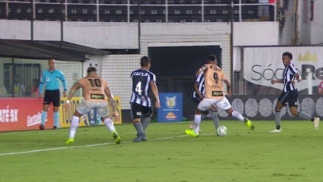 Os gols de Santos 1 x 1 Botafogo pela 36ª rodada do Brasileirão 2018