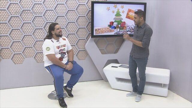 Confira a entrevista do Amigo Secreto do Globo Esporte