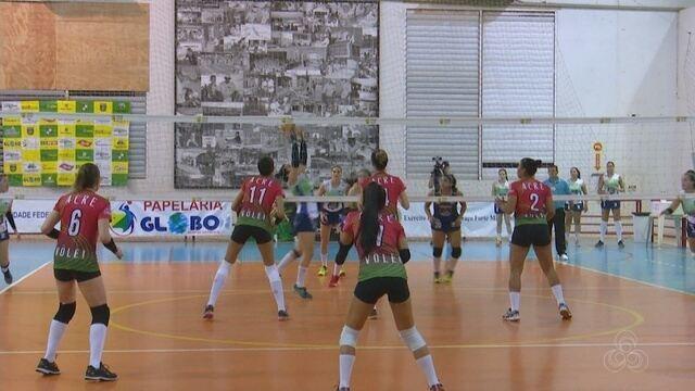Rondônia garante vaga na decisão da Copa Amazônia Sustentável de Vôlei Feminino
