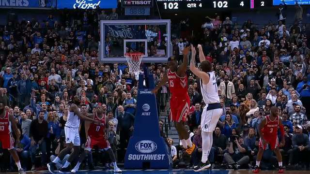 Melhores momentos: Houston Rockets 104 x 107 Dallas Mavericks pela NBA
