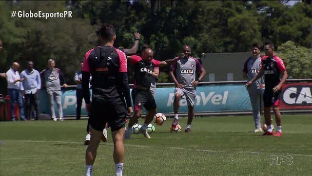 Expectativa no Atlético-PR aumenta para a final da Sul-Americana