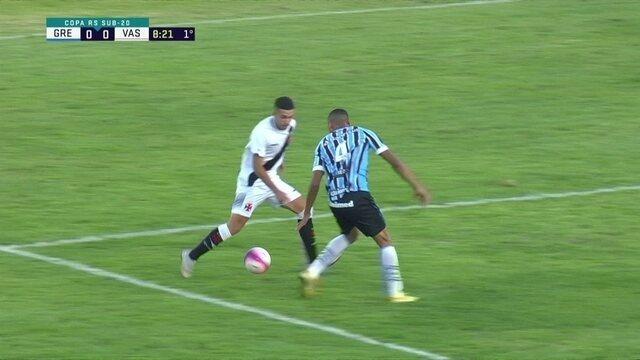 Melhores momentos de Grêmio 2 (1) x (3) 2 Vasco pelas quartas da Copa RS de Futebol Sub-20