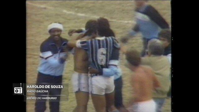 Redação AM: Haroldo de Souza narra o título Mundial do Grêmio