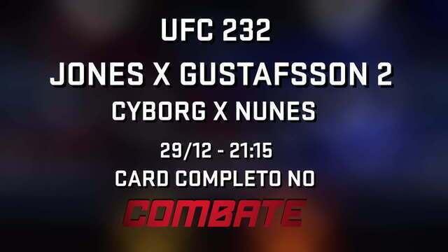 Chamada UFC 232