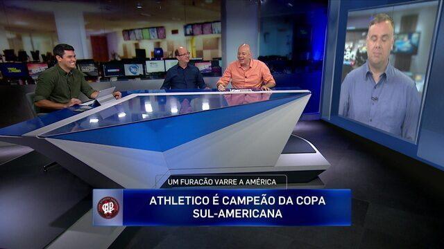 Comentaristas analisam título do Atlético-PR diante do Barranquilla