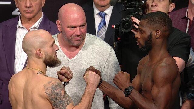 Kelleher e Jackson fazem a encarada pelo peso-galo no UFC 232