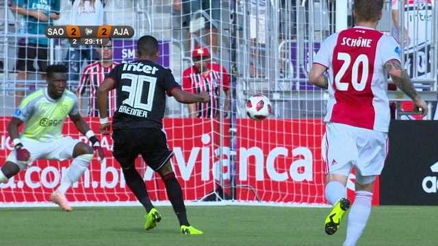 Os melhores momentos de São Paulo 2 x 4 Ajax pelo Torneio da Flórida