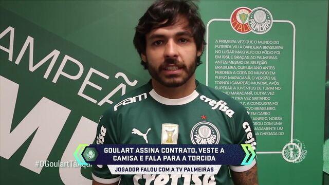 Palmeiras chega a acordo e anuncia Ricardo Goulart