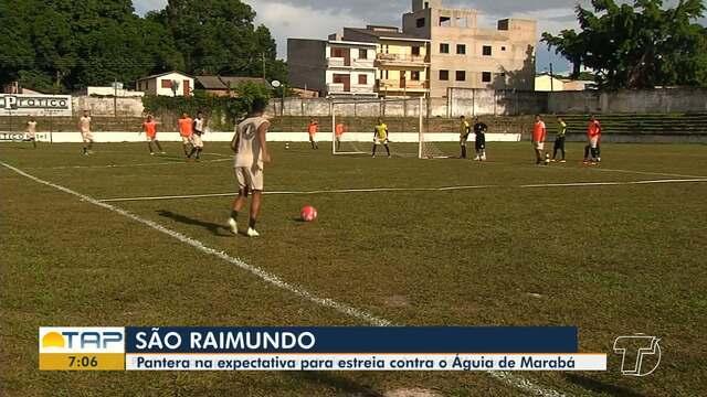 São Raimundo entra na expectativa para jogo de estreia contra o Águia em Santarém