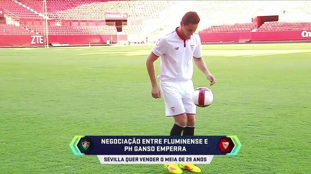 Central do Mercado: negociação entre Fluminense e Ganso emperra