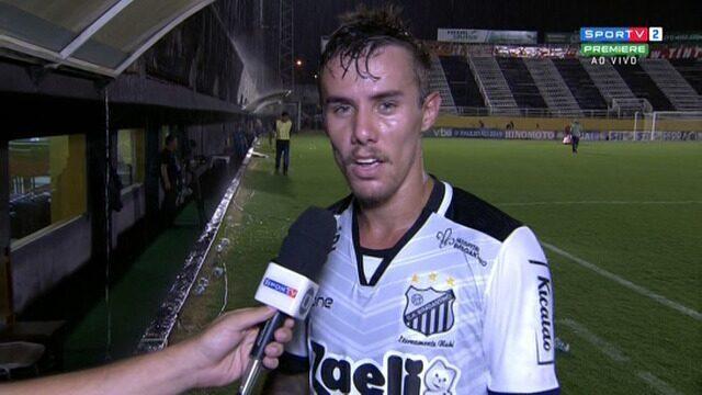 Estreante com a camisa do Bragantino, Wesley comenta vitória sobre o Guarani