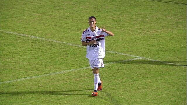 Os gols de São Paulo 5 x 2 Guarani pela semifinal da Copa SP de Futebol Júnior