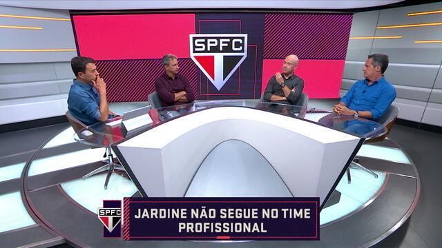 Jardine deixa o time profissional do São Paulo
