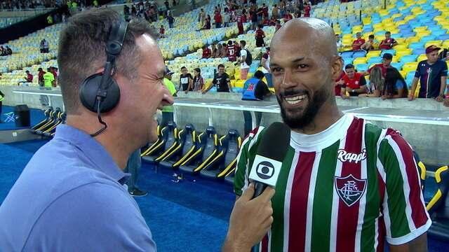 """Bruno Silva diz que a classificação do Flu é resultado de muita humildade: """"Nós vamos atrás do título"""""""