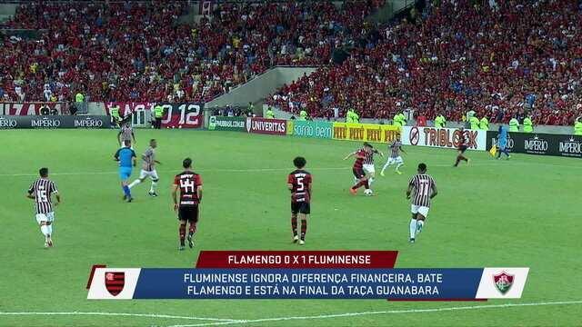Comentaristas debatem sobre a vitória do Fluminense em cima do Flamengo e erro de Arrascaeta