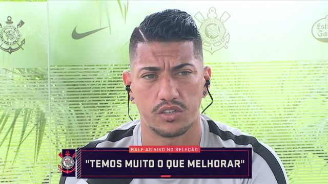 Ralf diz que Corinthians ainda tem muito a melhorar