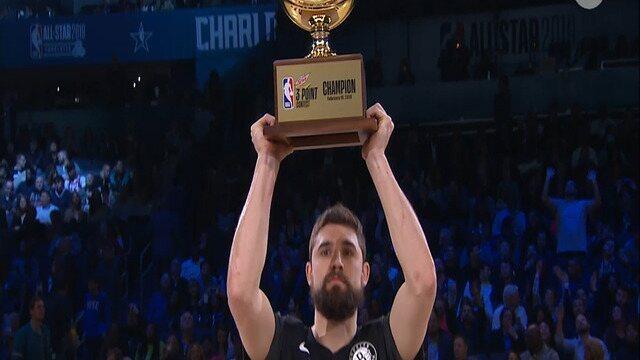 Joe Harris supera Stephen Curry e leva o Torneio de 3 Pontos do All-Star Game
