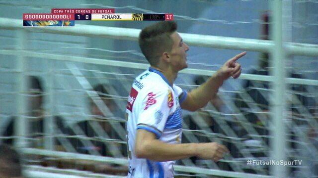 Os gols de Pato Futsal 8 x 1 Peñarol pela disputa de 3º lugar pela Copa 3 Coroas
