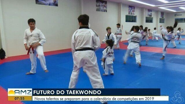 Novos talentos do Taekwondo se preparam para o calendário de competições em 2019