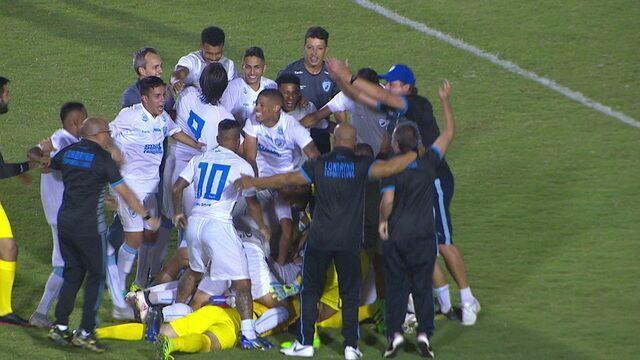 Os gols de Londrina 1 (5) x (4) 1 Paraná pela Copa do Brasil