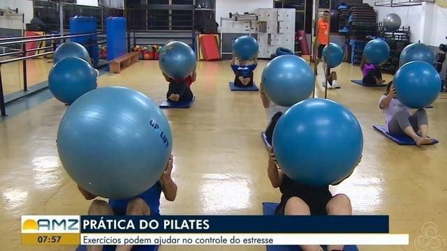 Exercícios da prática de Pilates podem ajudar no controle do estresse