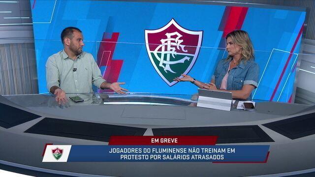 André Loffredo vê jogadores do Fluminense se esforçando apesar de greve por salários atrasados