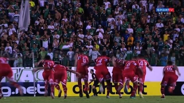 Confira os pênaltis de Goiás 2 x 3 CRB pela segunda fase da Copa do Brasil
