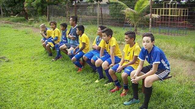 Time infantil do Brazuca treina para uma das maiores competições da América do Sul