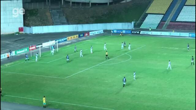 Primeiro gol de Loco Abreu com a camisa do Rio Branco-ES