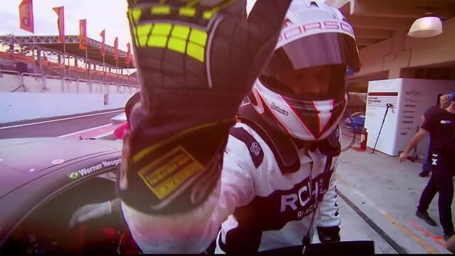 Chamada da abertura da temporada da Porsche Cup