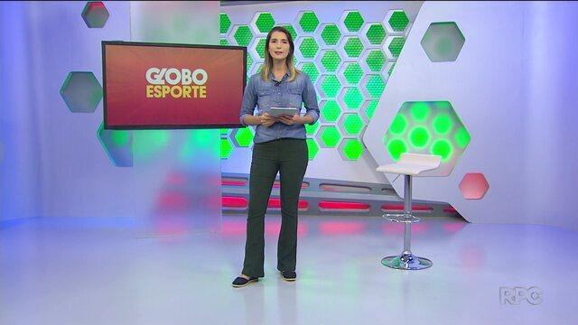 Veja a edição na íntegra do Globo Esporte Paraná de segunda-feira, 18/03/2019